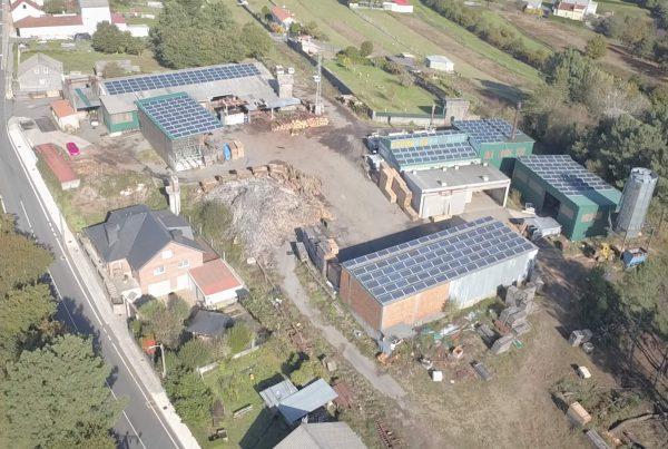 Instalación de autoconsumo industrial en Maderas Raña, A Coruña - EDF SOLAR