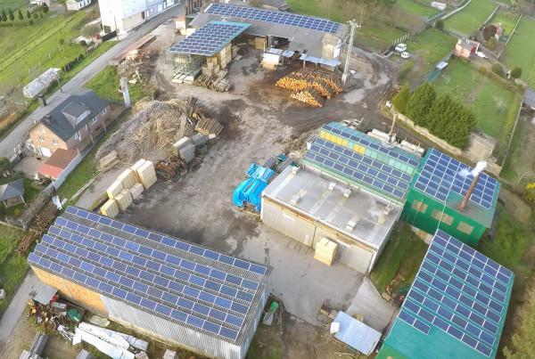 instalacion solar fotovoltaica maderas raña placas solares paneles
