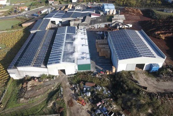 Instalación de autoconsumo en Maderas Cajaraville - EDF Solar