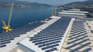 Instalación de energía solar fotovoltaica para autoconsumo Frigalsa