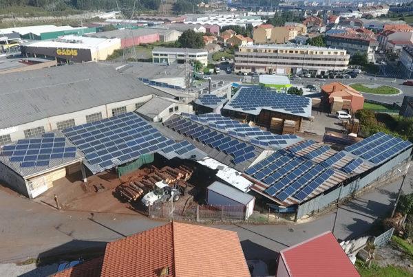Proyecto de Energía solar fotovoltaica para autoconsumo en Maderas Becerra