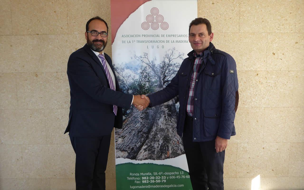EDF Solar convenio colaboracion Asociacion Empresarios Madera Lugo