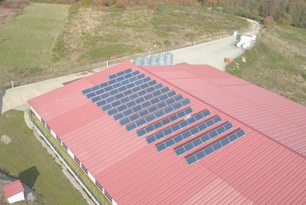 Instalación de autoconsumo en Granja Caselas Cogal, Pontevedra - EDF Solar