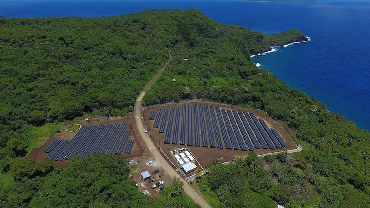 Solarcity y Tesla consiguen la autosuficiencia energética en la isla de Ta'u