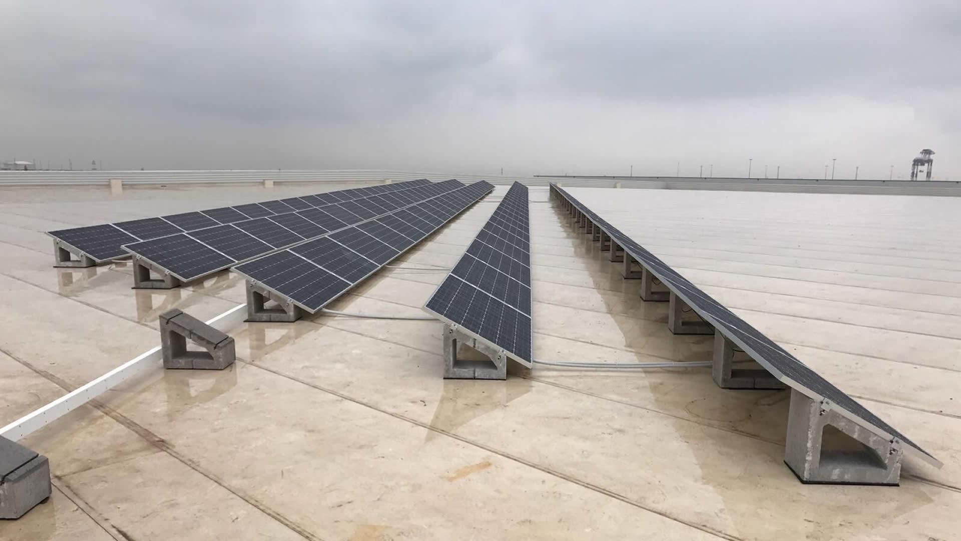 Instalaci n de energ a solar fotovoltaica en dhl barcelona - Solar barcelona ...