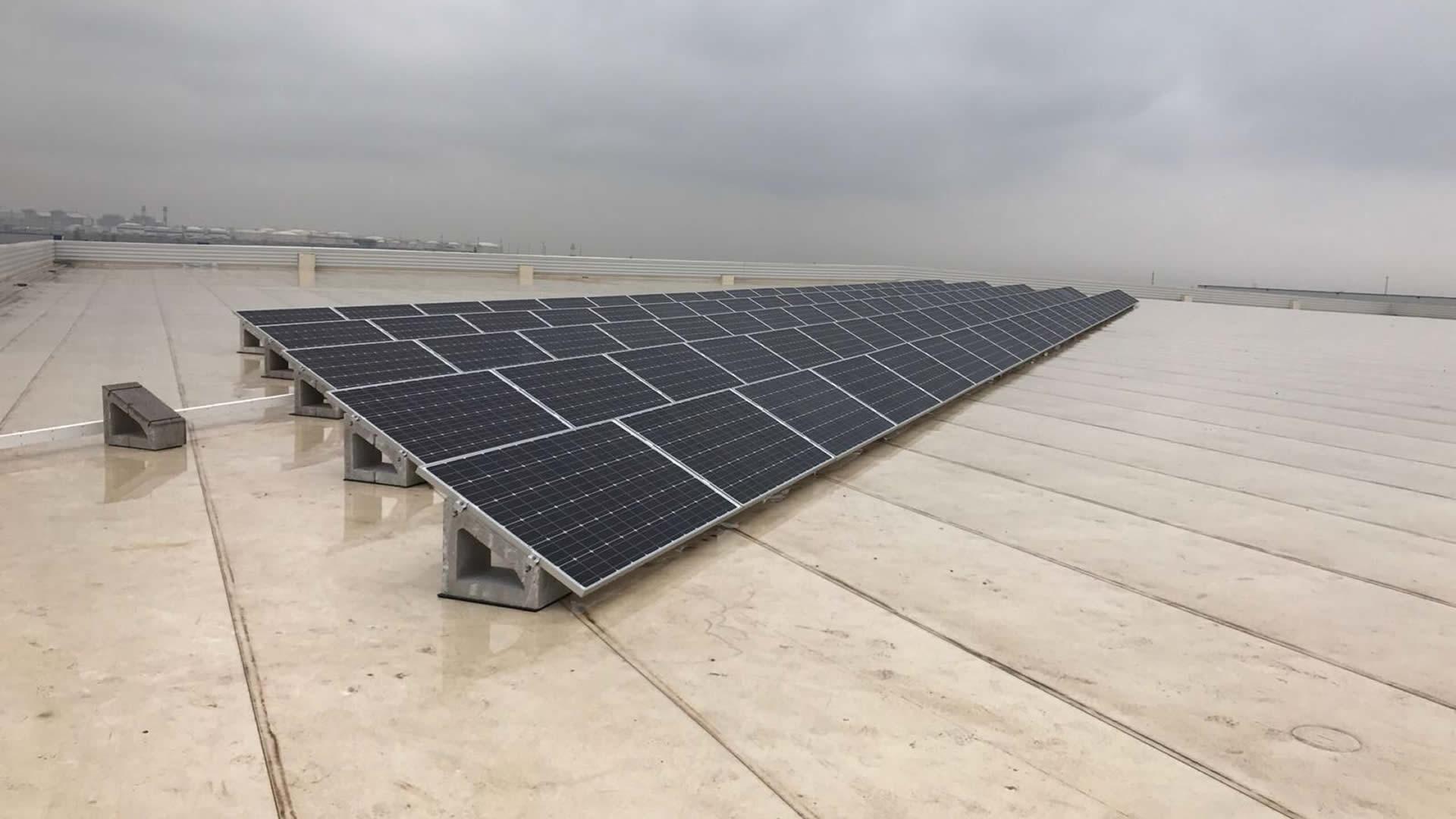 Instalaci n de energ a solar fotovoltaica en dhl barcelona edf solar - Solar barcelona ...
