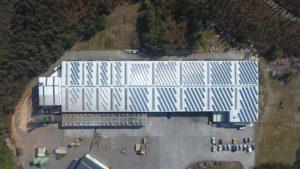 Instalación energía solar fotovoltaica Laminados Villapol