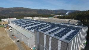 Instalación de energía solar fotovoltaica para autoconsumo en Rotogal - A Coruña