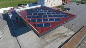 Instalación de energía solar fotovoltaica para autoconsumo en gasolinera