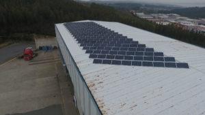 Instalación de energía solar fotovoltaica autoconsumo Maquinaria Rey