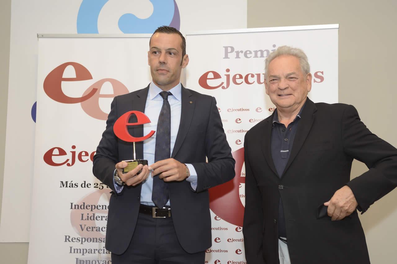 EDF Solar en la entrega de premios Ejecutivos Galicia 2017