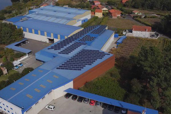 Ampliación de la cubierta solar fotovoltaica en Distribuciones Lema - EDF SOLAR