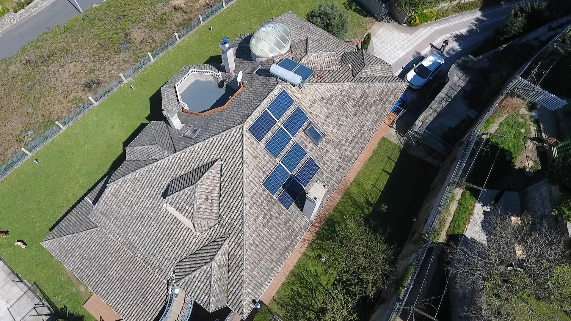 Instalación de energía solar fotovoltaica doméstica para autoconsumo