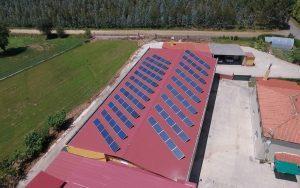 Instalación de autoconsumo fotovoltaico en Lácteos Terra de Melide - EDF Solar
