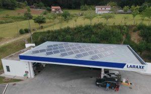 Instalación de autoconsumo fotovoltaico en E.S. Laraxe - EDF Solar