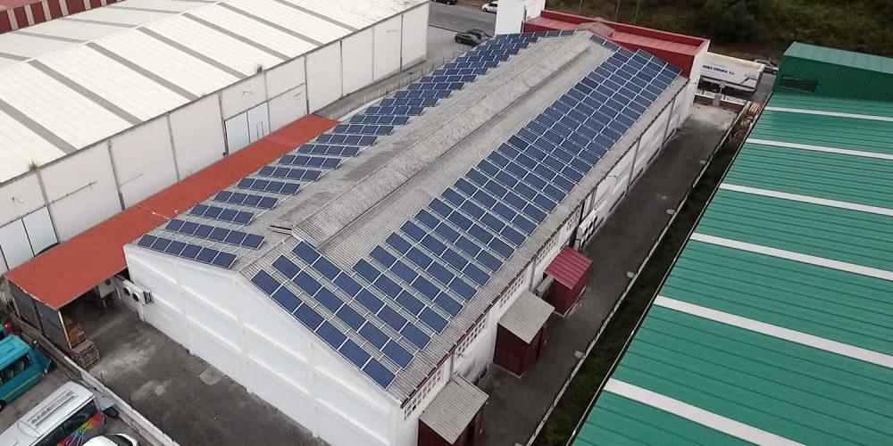 Instalación de autoconsumo en Frigoríficos VYS II - EDF Solar