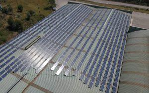 Instalación de autoconsumo en NEFAB - EDF Solar