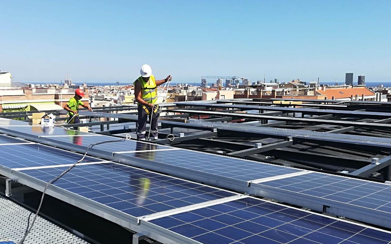 Ejecución de 1MW de autoconsumo en Catalunya por EDF Solar