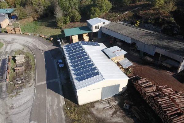 Instalación de energía solar fotovoltaica para autoconsumo en Maderas Torguedo - EDF Solar