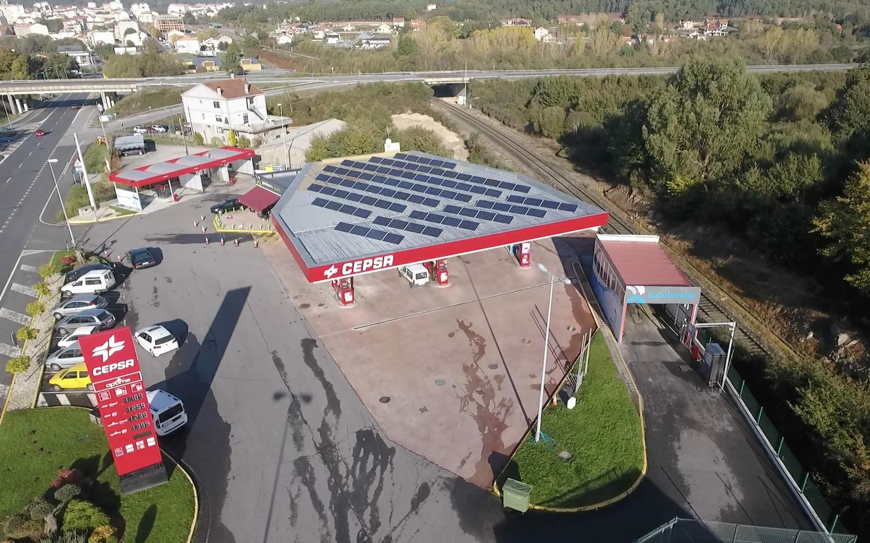 Instalación de autoconsumo fotovoltaico en E.S. Dacon (Ourense) - EDF Solar