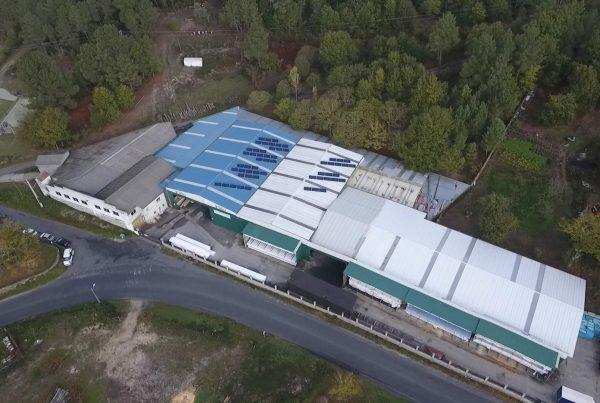 Instalación de autoconsumo industrial en Maderas Rubén - EDF Solar