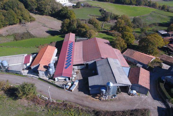 Instalación de autoconsumo en granja José Arean (Lugo) - EDF Solar