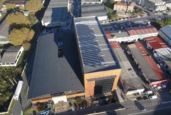 Instalación de autoconsumo industrial en ABN Pipe A Coruña - Eidf Solar