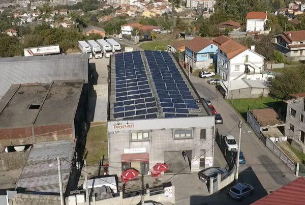 Instalación de autoconsumo fotovoltaico industrial en TuyPan (Pontevedra) - EDF Solar