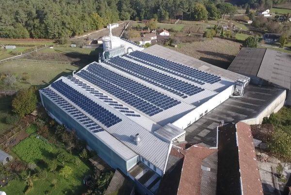 Instalación de autoconsumo fotovoltaico industrial en Muebles Santos - EDF Solar