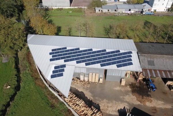 Instalación de autoconsumo industrial en Maderbar (Lugo) - EDF Solar
