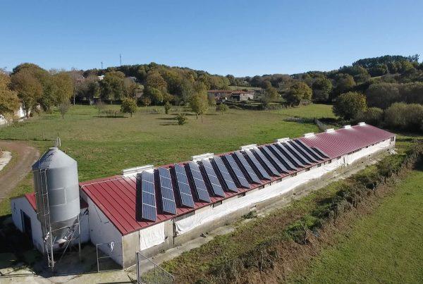 Instalación de autoconsumo industrial en Pazo de Vilane - EDF Solar