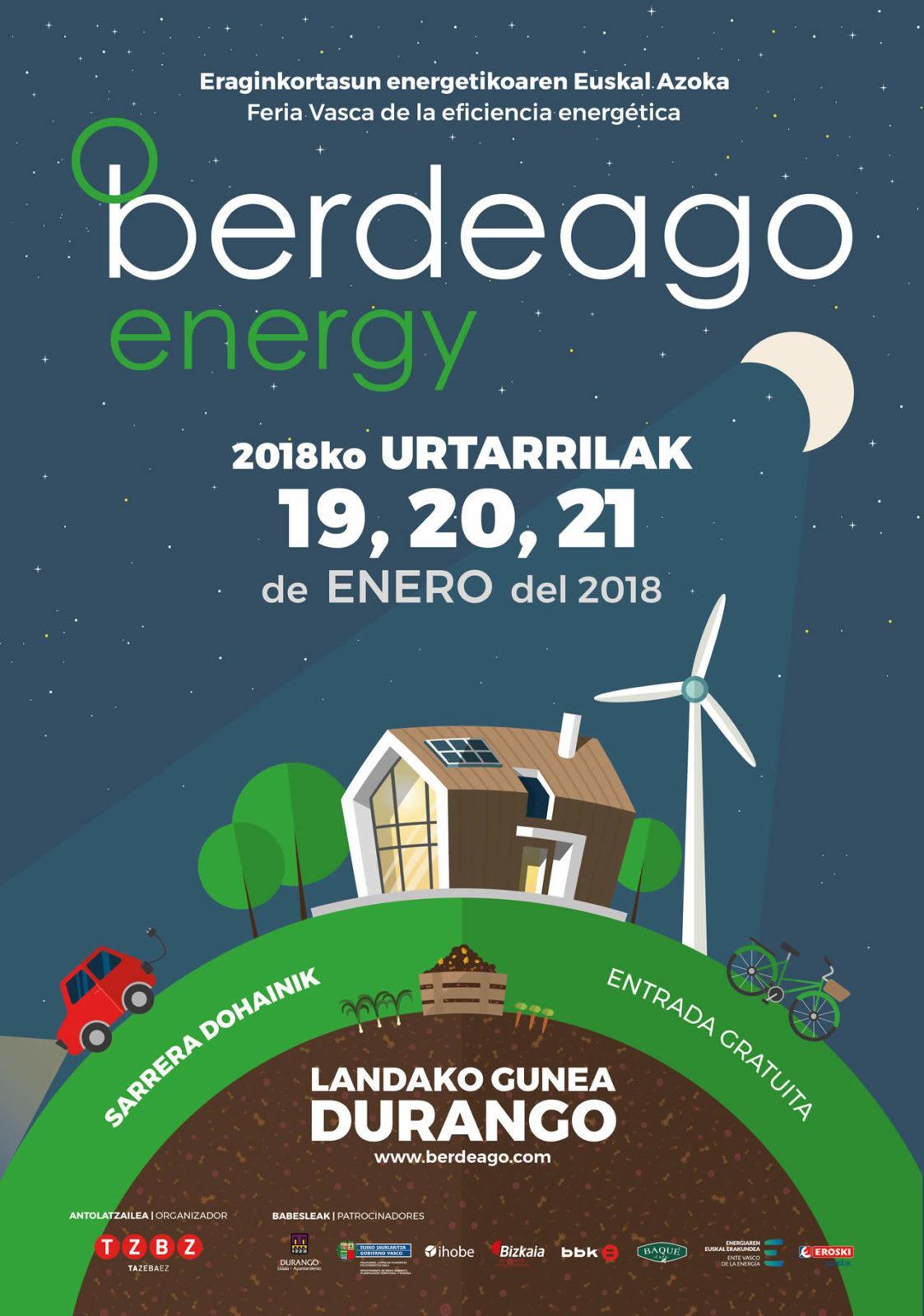 EDF Solar en la feria Berdeago Energy 2018