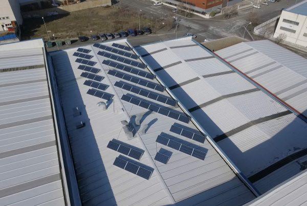 EDF Solar - Instalación de autoconsumo fotovoltaico en Bacalao Samper, Navarra