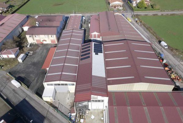 Eidf Solar - Instalación de autoconsumo fotovoltaico en Betiko PVC, Navarra