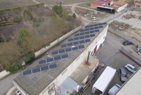 Eidf Solar - Instalación de autoconsumo en Conservas Almanaque