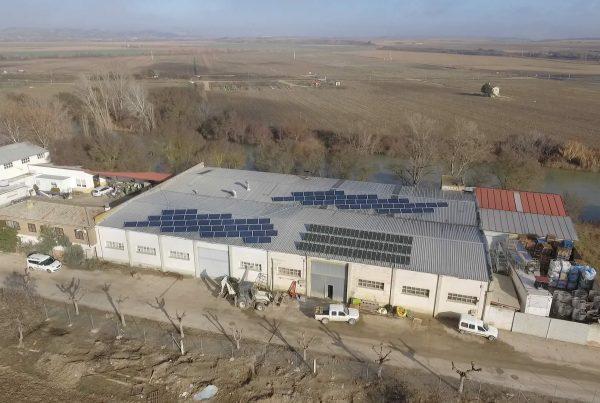 EDF SOLAR - Instalación de autoconsumo fotovoltaico en Conservas Marco, Navarra