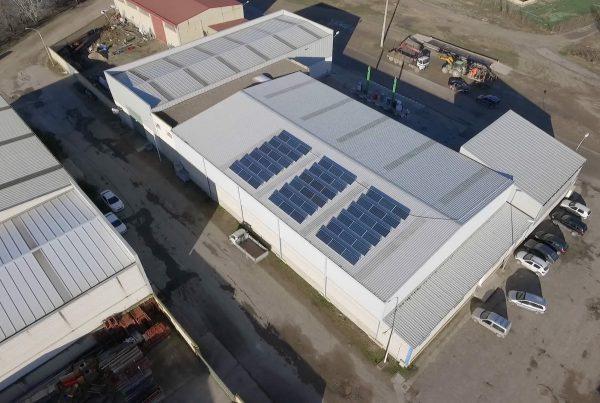 Eidf Solar - Instalación de autoconsumo industrial en Cooperativa Santiago Apóstol, Navarra