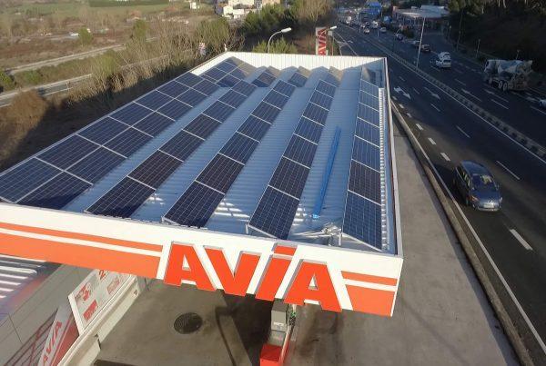 Eidf Solar - Instalación de autoconsumo en gasolinera E.S. Herno, Navarra