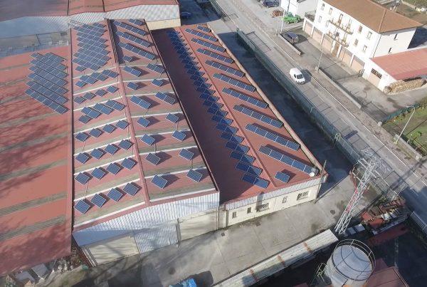 EDF SOLAR - Instalación de autoconsumo fotovoltaico en Kiderwood, Navarra