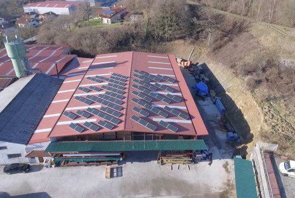 EDF SOLAR - Instalación de autoconsumo en Maderas Ansorena, Navarra