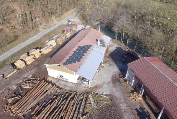 Eidf Solar - Instalación autoconsumo Maderas Santesteban, Navarra