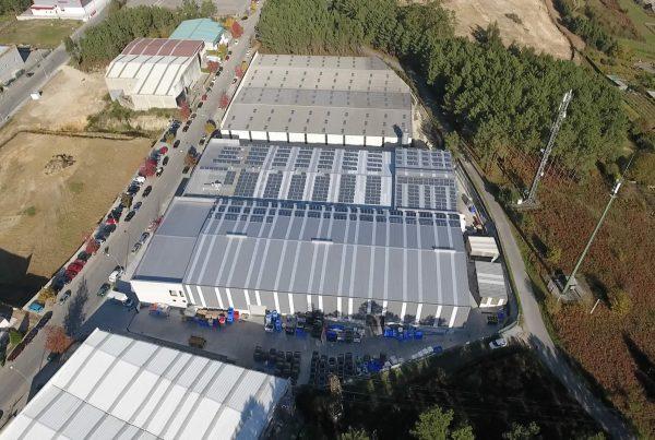 EDF Solar - Instalación de autoconsumo en Rotogal 2, A Coruña