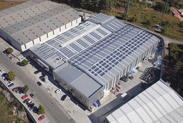 Ampliación planta solar autoconsumo Rotogal 2 - EDF Solar