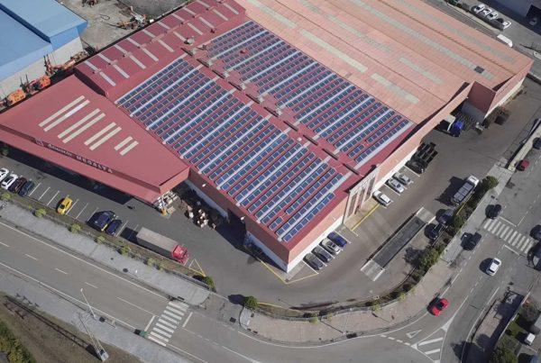Instalación de autoconsumo en Megalta - EDF Solar
