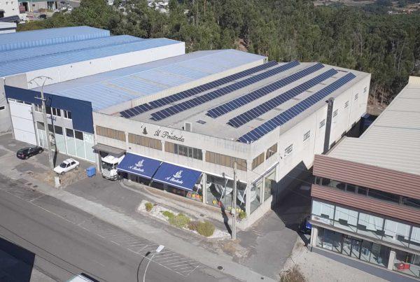 Instalación de autoconsumo en A Poutada - EDF Solar