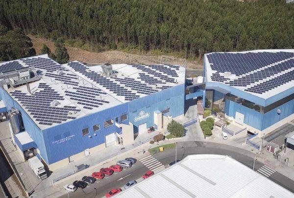 Instalación de autoconsumo industrial en Congalsa (A Pobra) - Eidf Solar