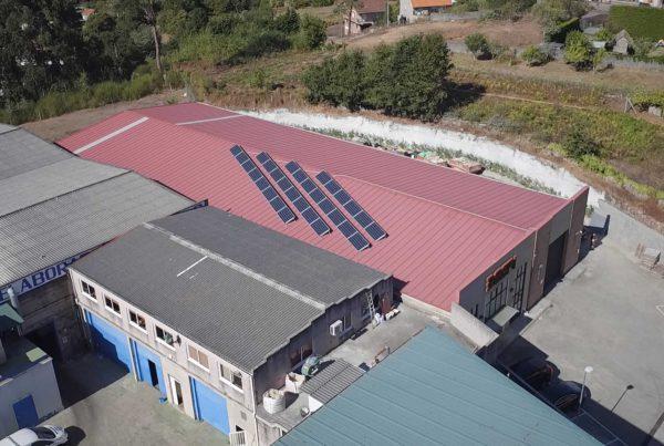 Instalación de autoconsumo en Bespi - Eidf Solar