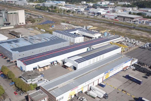 Instalación de autoconsumo en Euroroca, Pontevedra - EDF Solar