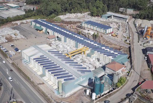 Instalación de autoconsumo en Granitos Cabaleiro, Pontevedra - Eidf Solar