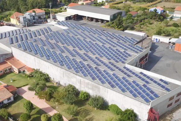 Instalación de autoconsumo en Maderas Amazonas, A Coruña - Eidf Solar